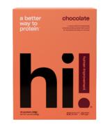 hi! Human Improvement Chocolate Protein Powder 10 Pack