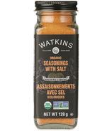 Watkins Organic Seasonings with Salt