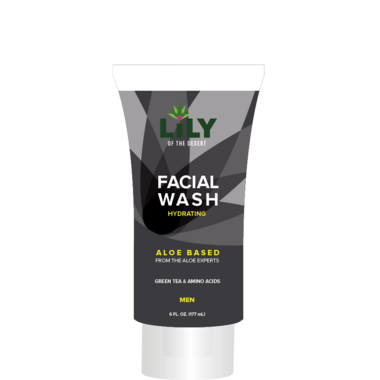 Lily Of The Desert Hydrating Facial Wash for Men