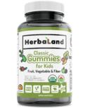 Herbaland Classic Gummy for Kids Fruit, Veg & Fiber