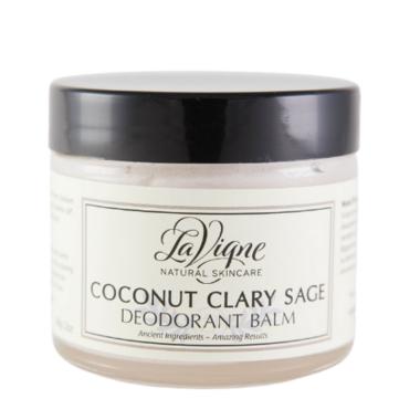 LaVigne Deodorant Balm Coconut Clary Sage
