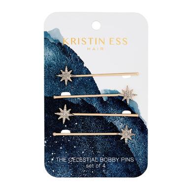 Kristin Ess Hair Celestial Bobby Pins Gold