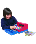 Learning Resources Pretend & Play Calculator Cash Register with CAD