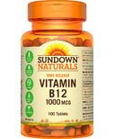 Sundown Naturals Time Release Vitamin B12