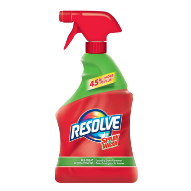 Resolve Spray \'N Wash Pre-Treat Laundry Stain Remover Trigger Spray