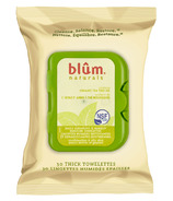 Blum Naturals Daily Cleansing & Makeup Removing Towelettes Oily Skin