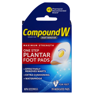 Compound W Wart Remover Pads For Feet