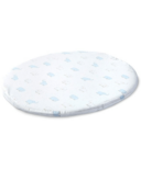 Stokke x Pehr Sleepi Mini Fitted Crib Sheet Elephant