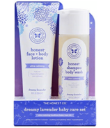 The Honest Company Dreamy Lavender Ultra Calming Baby Care Set