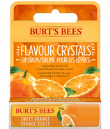 Burt's Bees Sweet Orange Flavour Crystals Lip Balm