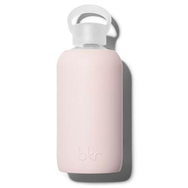 bkr Bougie Glass Water Bottle Opaque Pastel Mauve