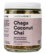 Lake & Oak Tea Co. Chaga Coconut Chai Superfood Tea Blend