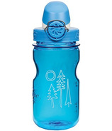 Nalgene 12 Ounce On the Fly Kids Bottle Blue with Forest Art