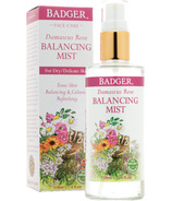 Badger Rose Balancing Mist