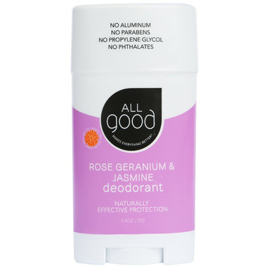 All Good Rose Geranium & Jasmine Deodorant