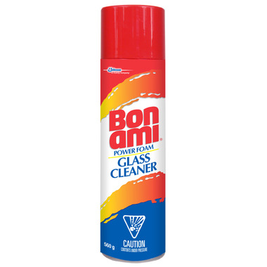 Bon Ami Power Foam Glass Cleaner