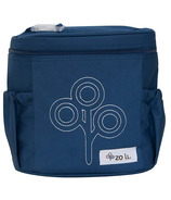 Zoli Nom Nom Insulated Lunch Tote Navy
