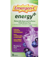 Emergen-C Energy Plus Blueberry Acai