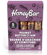 Honeybar Peanut Butter & Jam Snack Bar