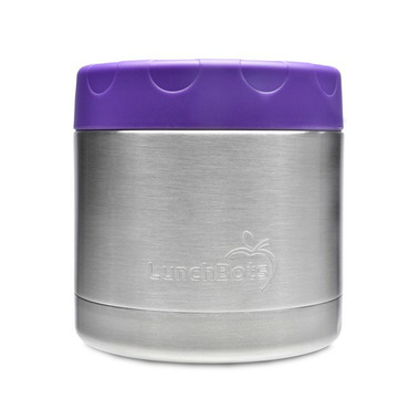 LunchBots Thermal Purple
