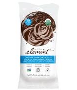 Element Snacks Gâteaux de riz biologiques trempés dans le chocolat noir