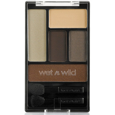 Wet N Wild Color Icon 5 Pan Eyeshadow Palette: The Naked