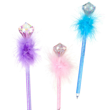 Great Pretenders Diamond Fluffy Pens