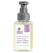Nature Clean 100% Natural Foaming Hand Soap Lavender Moon