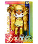Rainbow High Cheer Doll Sunny Madison Yellow