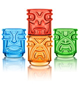Final Touch Tiki Stacking Glasses