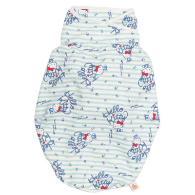 Ergobaby x Hello Kitty Original Swaddler in Sail Away