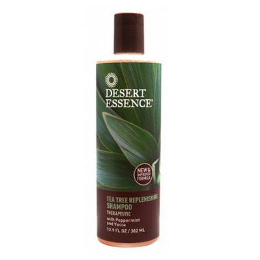 Desert Essence Organic Tea Tree Replenishing Shampoo