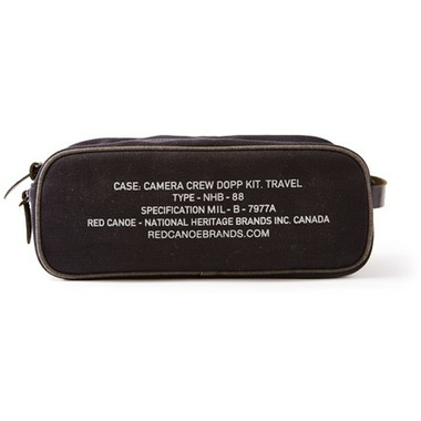 Red Canoe CBC Toiletry Bag Black
