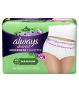 Always Discreet Incontinence Underwear Maximum Small / Medium