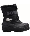 Sorel Children's Snow Commander Black & Charcoal