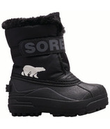 Sorel Children's Snow Commander Black & Charcoal