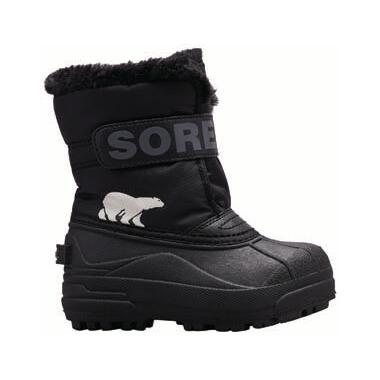 Sorel Children\'s Snow Commander Black & Charcoal