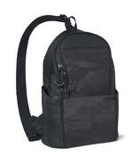 Skip Hop Paxwell Sling Easy-Access Diaper Bag Black Camo