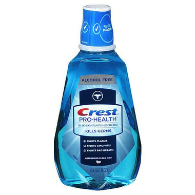 Crest Pro-Health Oral Rinse Refreshing Clean Mint