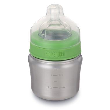 Klean Kanteen Kid Kanteen Baby Bottle 5 oz with Slow Flow Nipple