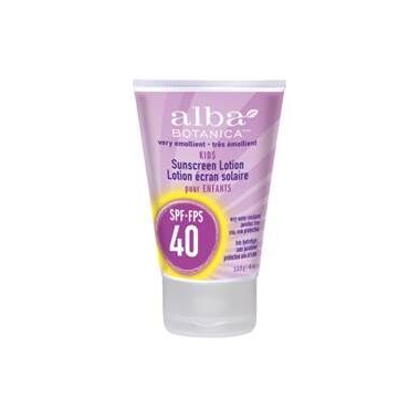 Alba Botanica Very Emollient Kids Sunscreen SPF 40