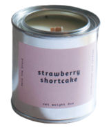 Mala The Brand Soy Candle Strawberry Shortcake