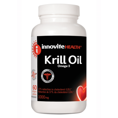 Innovite Health Krill Oil Omega-3 1000MG