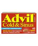 Advil Cold & Sinus Caplets BONUS