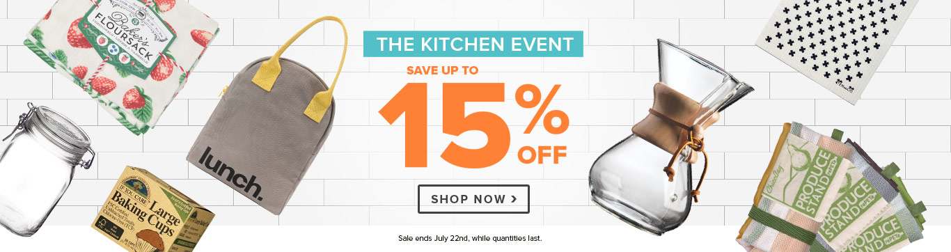 Kitchen Event: Save up to 15%