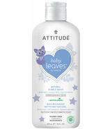 ATTITUDE Baby Leaves Night Bubble Wash Almond Milk