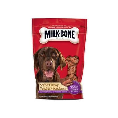 Milk-Bone Soft & Chewy Beef Steak Flavour Dog Treats