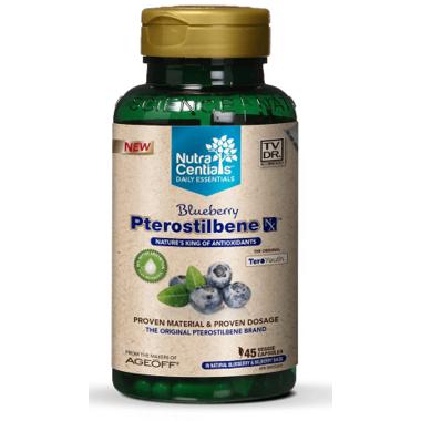 NutraCentials Daily Essentials Blueberry Pterostilbene NX