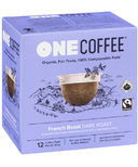 OneCoffee Organic Single Serve Coffee French Blend Dark Roast