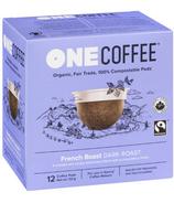 OneCoffee Organic Single Serve Coffee French Blend Dark Roast